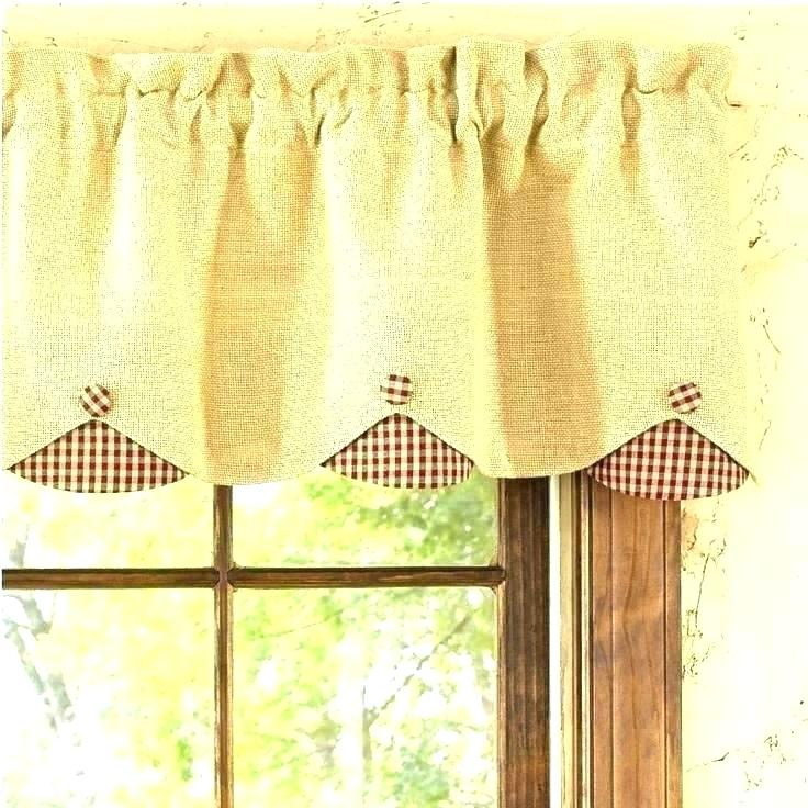 Red Kitchen Curtains And Valances – Paultay (#26 of 50)