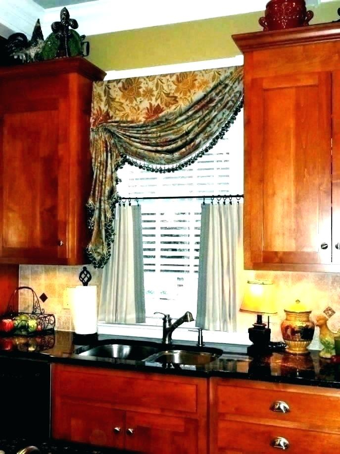 Inspiration about Red Kitchen Curtains And Valances – Paultay.co With Modern Subtle Texture Solid White Kitchen Curtain Parts With Grommets Tier And Valance Options (#15 of 50)