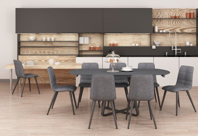 Reed Extending Dining Tables With Well Liked Reflex Dining – Furniture – Reeds Homestore (View 17 of 30)