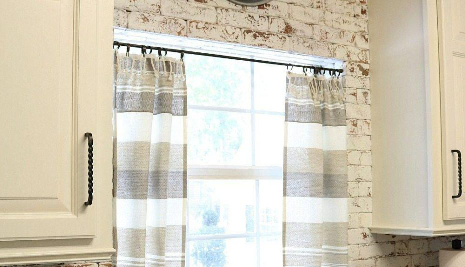 Inspiration about Refresh Restyle Farmhouse Kitchen Curtains Ideas Gray And Throughout Rustic Kitchen Curtains (#21 of 30)