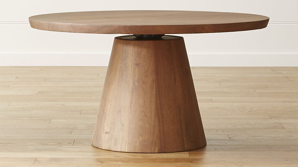 """Revolve 48"""" Round Adjustable Height Dining Table In 2019 For Most Recent James Adjustables Height Extending Dining Tables (#17 of 20)"""