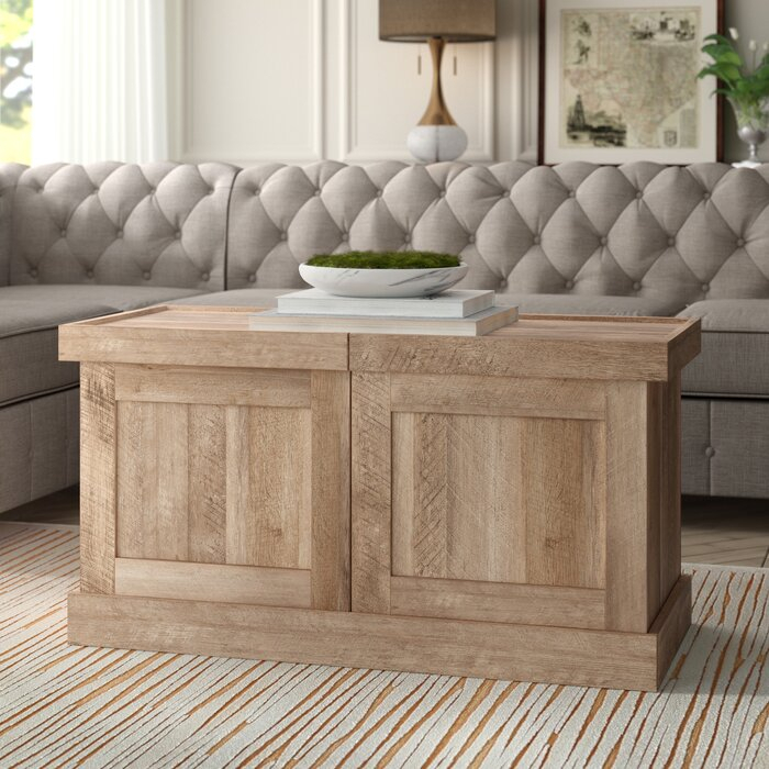 Ringgold Extendable Coffee Table Inside Well Liked Menlo Reclaimed Wood Extending Dining Tables (#28 of 30)