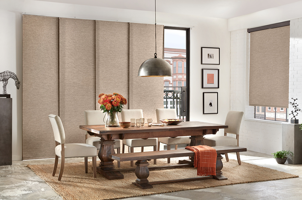 Inspiration about Roller Shades | Alta Window Fashions For Vintage Sea Shore All Over Printed Window Curtains (#35 of 47)
