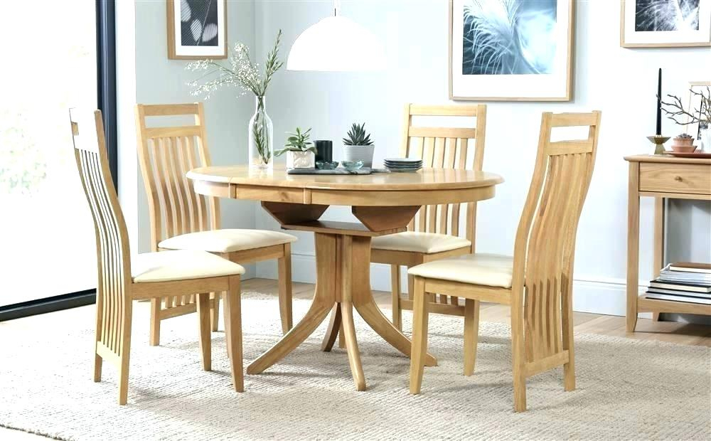 Inspiration about Round Extending Pedestal Dining Table – Dontdreamjustdoit.online Throughout Fashionable Blackened Oak Benchwright Pedestal Extending Dining Tables (#9 of 20)