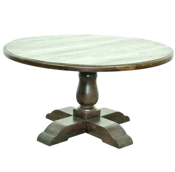 Inspiration about Round Pedestal Coffee Table – Fabdigitalmarketing.co Pertaining To Popular Dawson Pedestal Tables (#15 of 20)