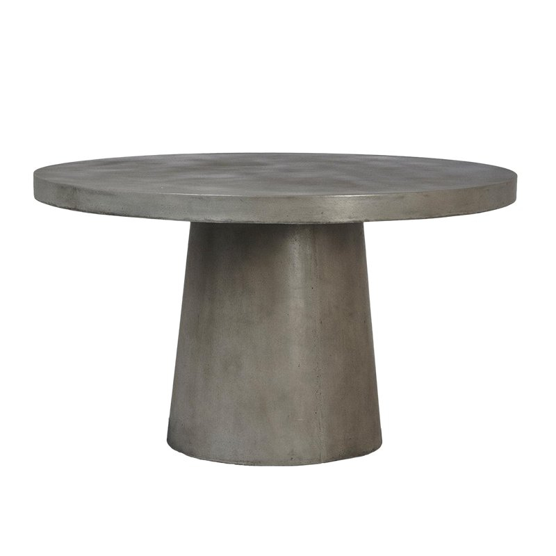 Inspiration about Round Pedestal Regarding Warner Round Pedestal Dining Tables (#2 of 20)