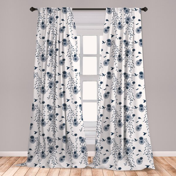 Inspiration about Rowley Birds Curtains | Wayfair Pertaining To Rowley Birds Valances (#24 of 50)