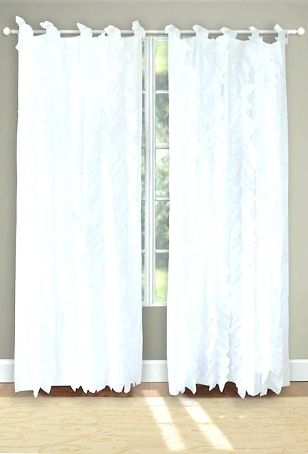 Inspiration about Ruffled Window Curtains – Dealerhondacijantung.club Inside Vertical Ruffled Waterfall Valance And Curtain Tiers (#7 of 30)