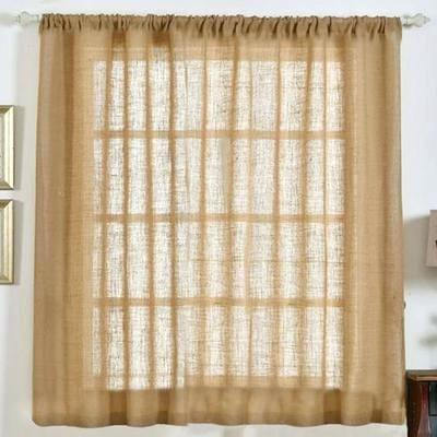 Rustic Burlap Curtains – Remotewriter (View 28 of 30)