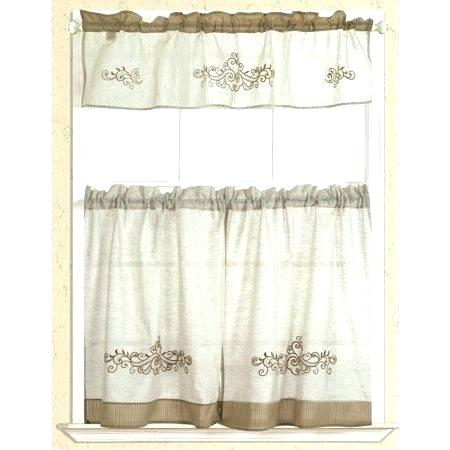 Rustic Kitchen Curtains In Rustic Kitchen Curtains (#14 of 30)