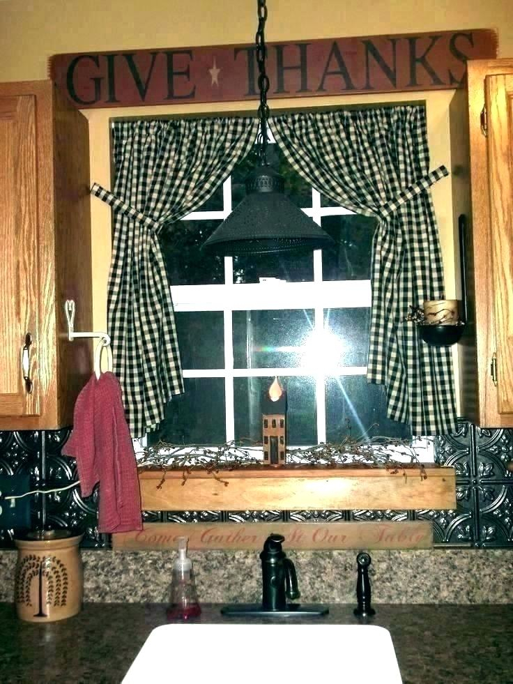 Inspiration about Rustic Kitchen Curtains – Live3D.co In Rustic Kitchen Curtains (#25 of 30)