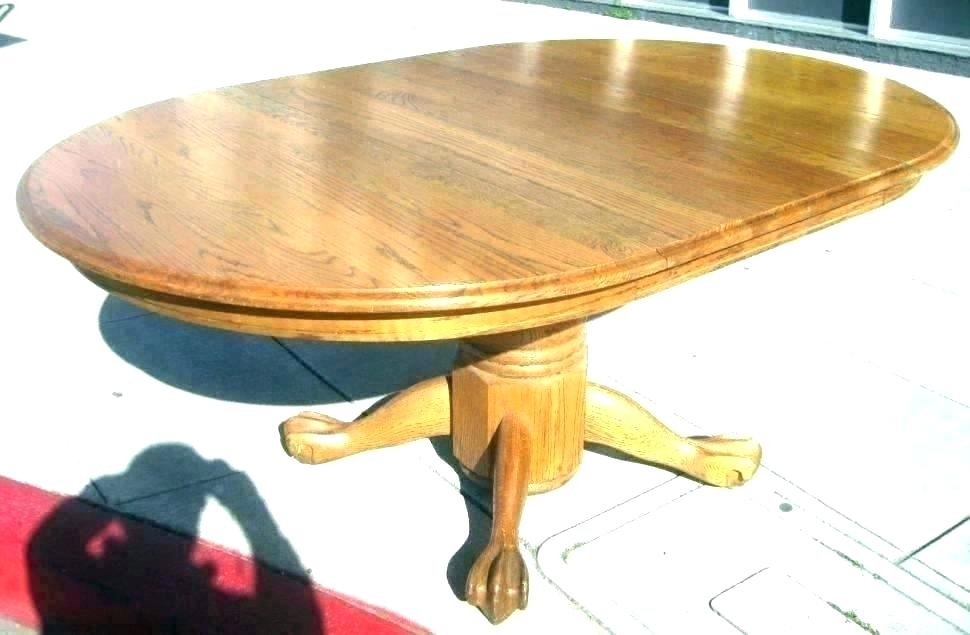 Inspiration about Rustic Mahogany Benchwright Pedestal Extending Dining Tables With Regard To Current Round Extending Pedestal Dining Table – Dontdreamjustdoit.online (#12 of 20)