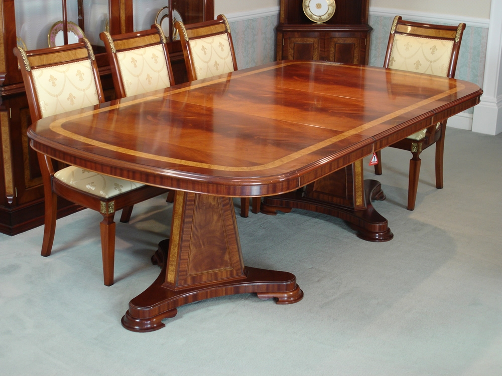 Inspiration about Rustic Mahogany Extending Dining Tables Inside 2020 Mahogany Extending Dining Table – Satuska (#11 of 30)