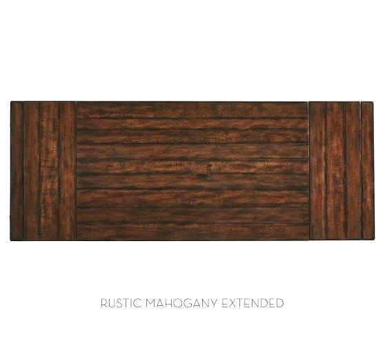 Rustic Mahogany Extending Dining Tables Inside Famous Benchwright Extending Dining Table – Stiickman (View 20 of 30)