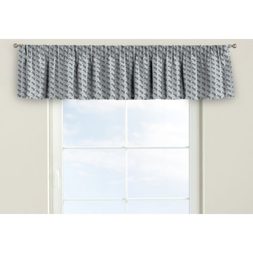 Inspiration about Rustic Pencil Pleat Tier Curtain Dekoria Size: 130 Cm W X 40 With Regard To Pleated Curtain Tiers (#11 of 50)