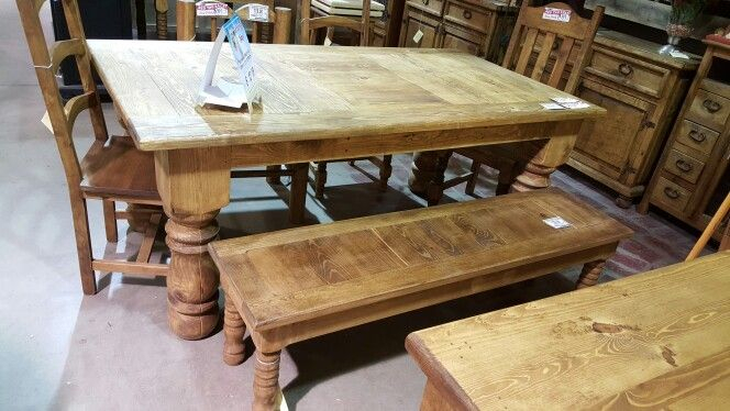 Inspiration about Rustic Pine Throughout Recent Herran Dining Tables (#15 of 20)