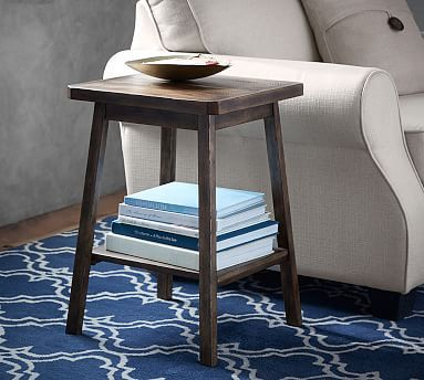 Inspiration about Rustic Side Table, Table, End Tables In Latest Mateo Extending Dining Tables (#8 of 20)
