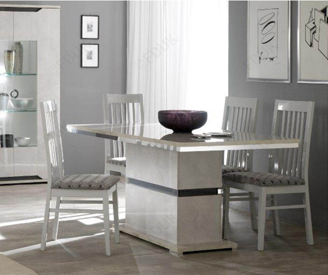 San Martino Mistral Wooden Dining Chair In Pair Fduk Best Price Guarantee  We Will Beat Our Competitors Price! Give Our Sales Team A Call On 0116 235 Regarding 2019 Martino Dining Tables (#23 of 30)