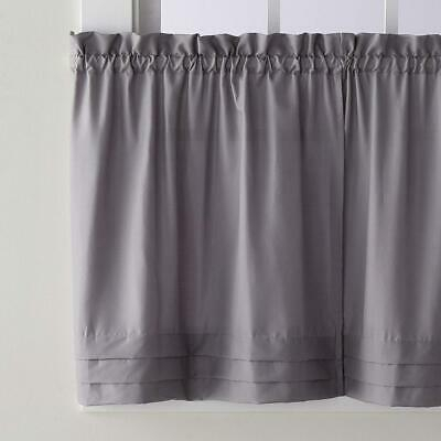 Popular Photo of Dove Gray Curtain Tier Pairs