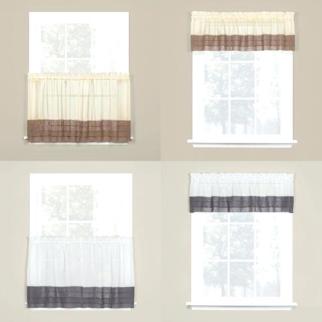 Saturday Knight Ltd Modern Brown Tuxedo Pleat Hem Window Within Pleated Curtain Tiers (View 19 of 50)