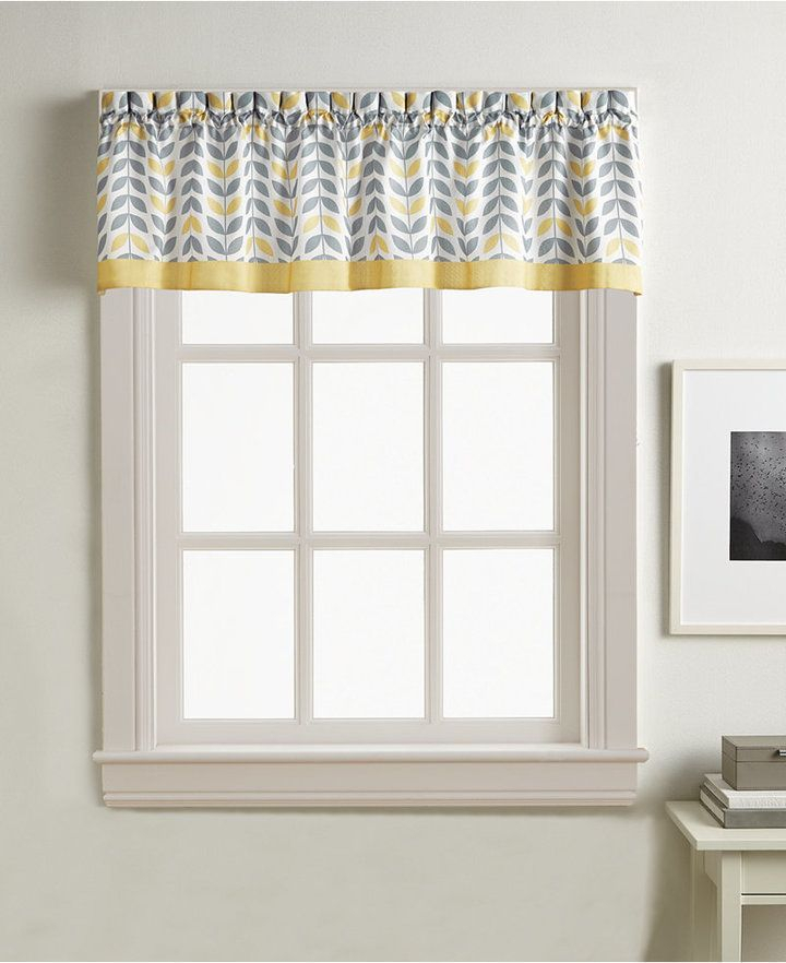 Popular Photo of Forest Valance And Tier Pair Curtains