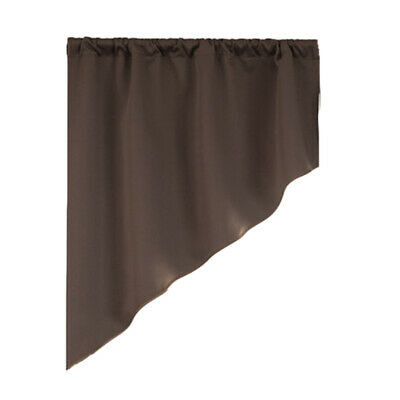 Semi Sheer Rod Pocket Tier Curtains Short Valance Curtain In Micro Striped Semi Sheer Window Curtain Pieces (#15 of 30)