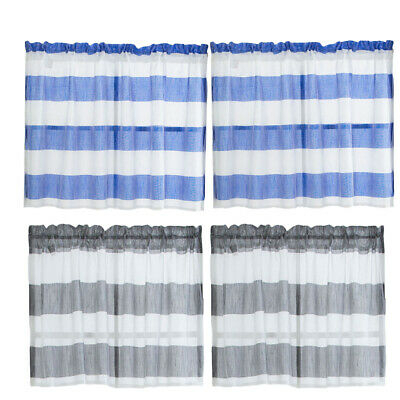 Semi Sheer Rod Pocket Tier Curtains Short Valance Curtain Inside Ivory Micro Striped Semi Sheer Window Curtain Pieces (View 38 of 50)