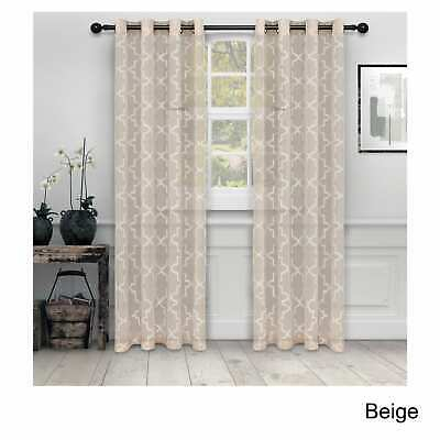 Semi Sheer Rod Pocket Tier Curtains Short Valance Curtain Intended For Ivory Micro Striped Semi Sheer Window Curtain Pieces (#23 of 50)
