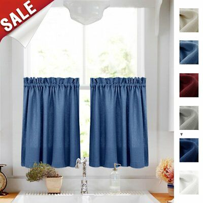 Semi Sheer Rod Pocket Tier Curtains Short Valance Curtain Throughout Ivory Micro Striped Semi Sheer Window Curtain Pieces (View 32 of 50)
