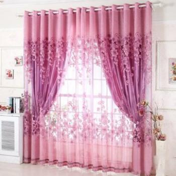 Senarai Harga 2Pcs 100250Cm Elegant Luxury High End Floral Within Floral Pattern Window Valances (View 35 of 50)