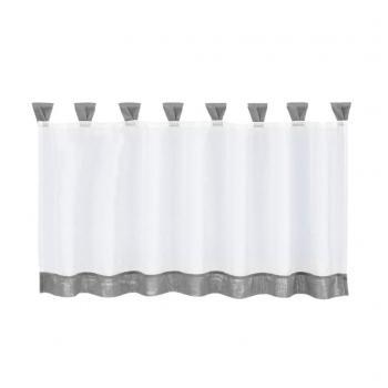 Senarai Harga Fityle Home Fashions Cotton Linen Window Tier Inside Kitchen Window Tier Sets (#42 of 50)