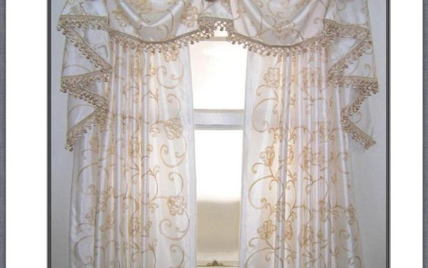 Set Bay For Valances Lace Valance Curtains Diy Pattern With Kitchen Burgundy/white Curtain Sets (#47 of 50)