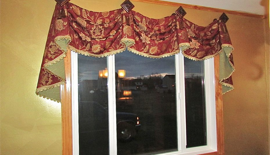 Sew Victory Designs Patterns Stylish Pleated Curtain Room Throughout Medallion Window Curtain Valances (View 14 of 48)