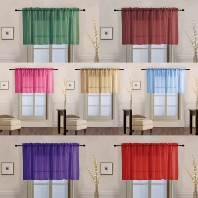 Sheer 2 Pc White Window Curtain Café/tier Set: 3D Soft Tufts Within White Tone On Tone Raised Microcheck Semisheer Window Curtain Pieces (#40 of 46)