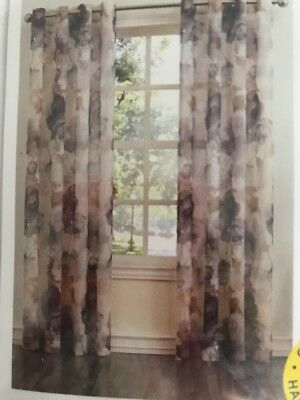Sheer Curtain Panel Curtain Andorra Watercolor Floral Crushed Texture No (View 43 of 50)