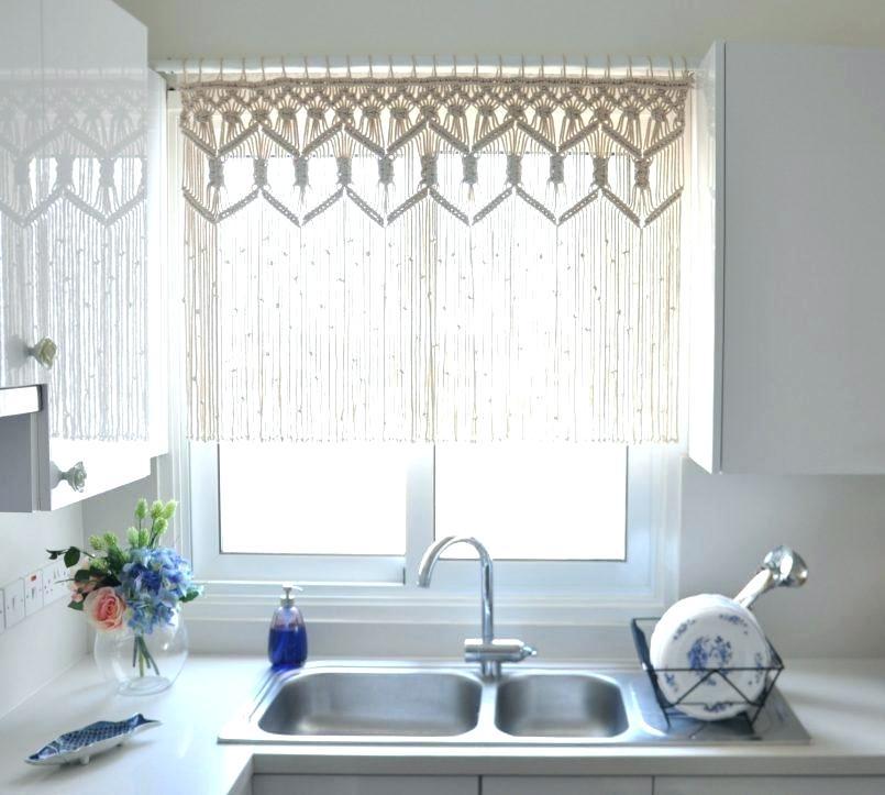 Sheer Kitchen Curtain – Neivacolaborativa (View 39 of 50)