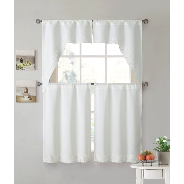 Sheer Swag Curtains | Wayfair Regarding Chardonnay Tier And Swag Kitchen Curtain Sets (View 42 of 50)
