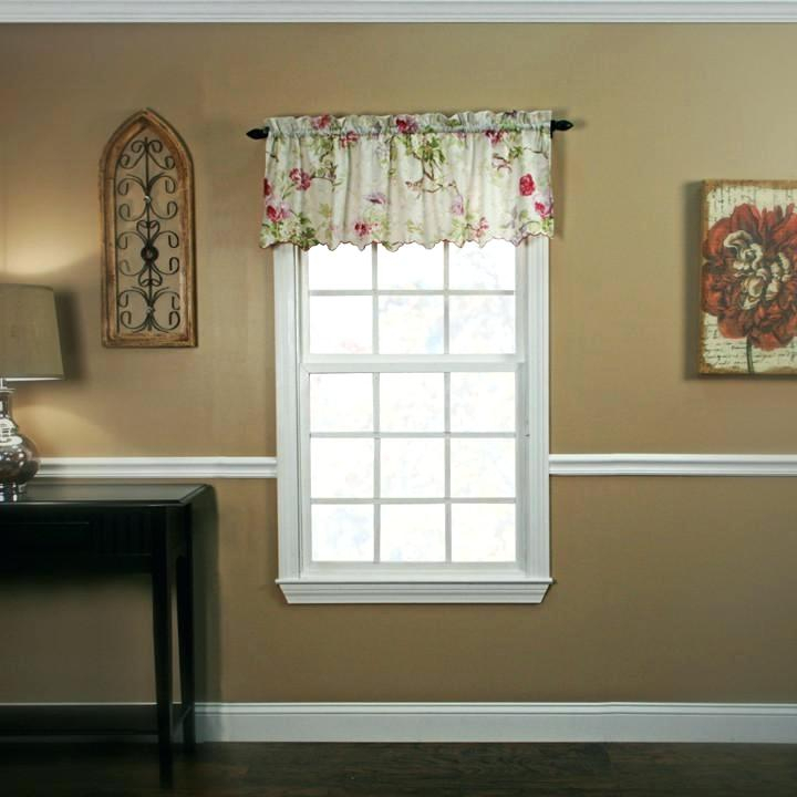 Sheer Swags For Windows – Uknatura Pertaining To Ivory Micro Striped Semi Sheer Window Curtain Pieces (#35 of 50)