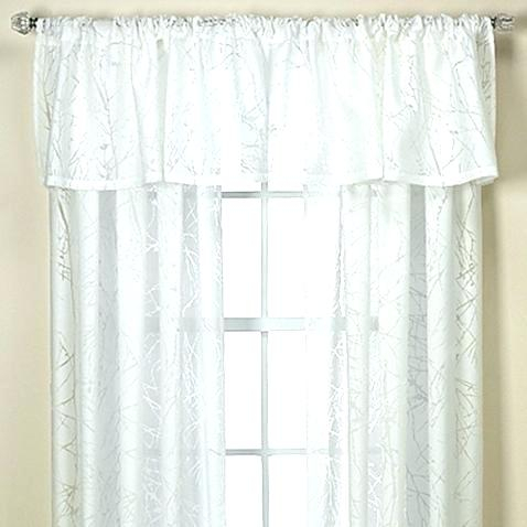 Sheer Swags For Windows – Uknatura Throughout Ivory Micro Striped Semi Sheer Window Curtain Pieces (#36 of 50)