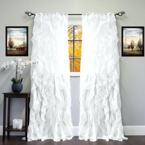 Sheer Tier Curtains – Conor425 In Ivory Micro Striped Semi Sheer Window Curtain Pieces (#40 of 50)