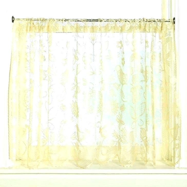 Sheer Tier Curtains – Conor425 In Sheer Lace Elongated Kitchen Curtain Tier Pairs (#22 of 30)