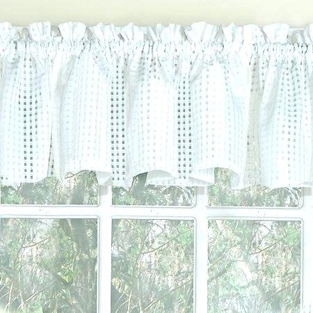 Sheer Tier Curtains – Conor425 Inside Ivory Micro Striped Semi Sheer Window Curtain Pieces (View 13 of 50)