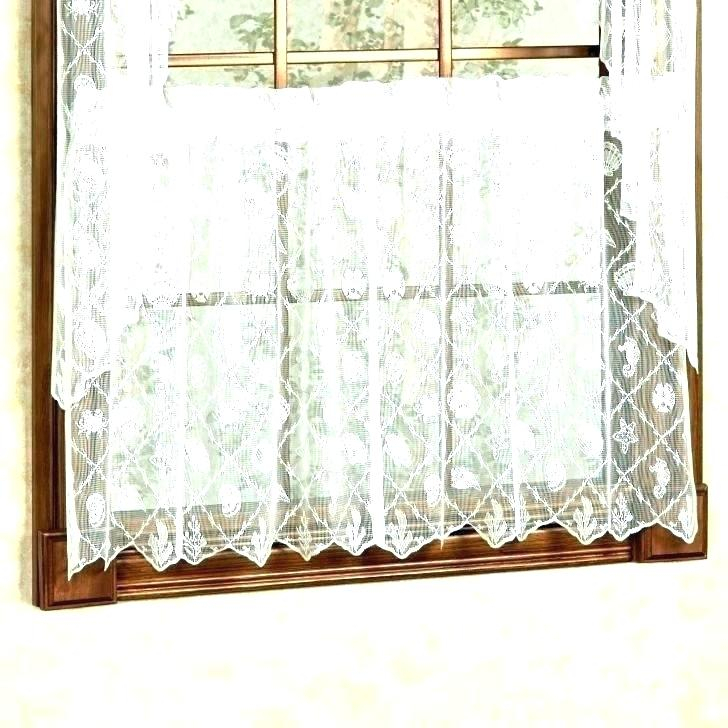 Sheer Tier Curtains – Conor425 Throughout Sheer Lace Elongated Kitchen Curtain Tier Pairs (#23 of 30)