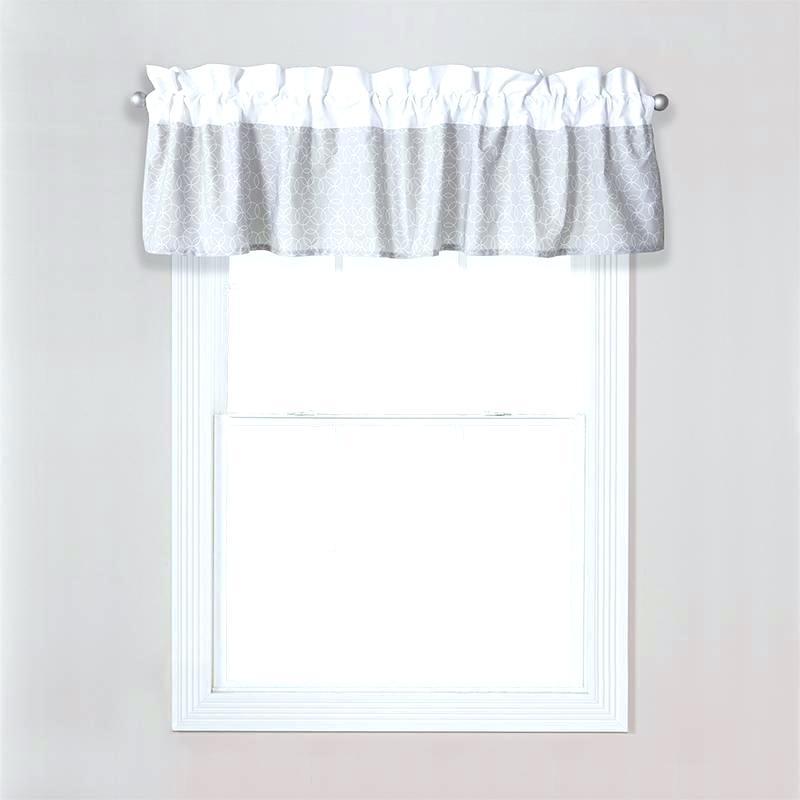 Sheer White Window Valances – Deepss (View 18 of 50)