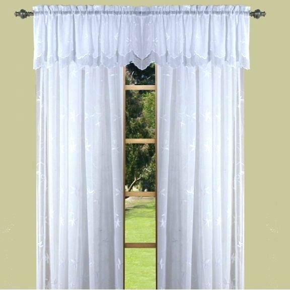 Sheer Window Valances – Freemobie360 Pertaining To Micro Striped Semi Sheer Window Curtain Pieces (#28 of 30)