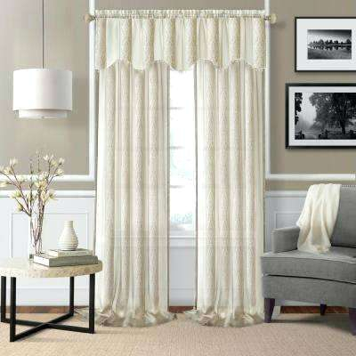Sheer Window Valances – Freemobie360 Throughout Ivory Micro Striped Semi Sheer Window Curtain Pieces (#47 of 50)