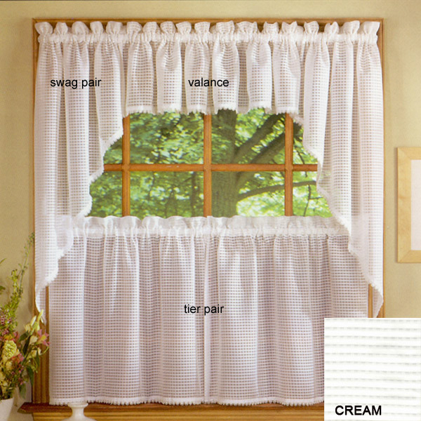 Simplicity 2 Tailored Valance Clearance In Semi Sheer Rod Pocket Kitchen Curtain Valance And Tiers Sets (View 22 of 50)