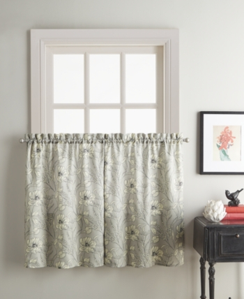 Sketch Floral 58 X 36 Window Tier | Products In 2019 | Tier Inside Hopscotch 24 Inch Tier Pairs In Neutral (View 25 of 30)