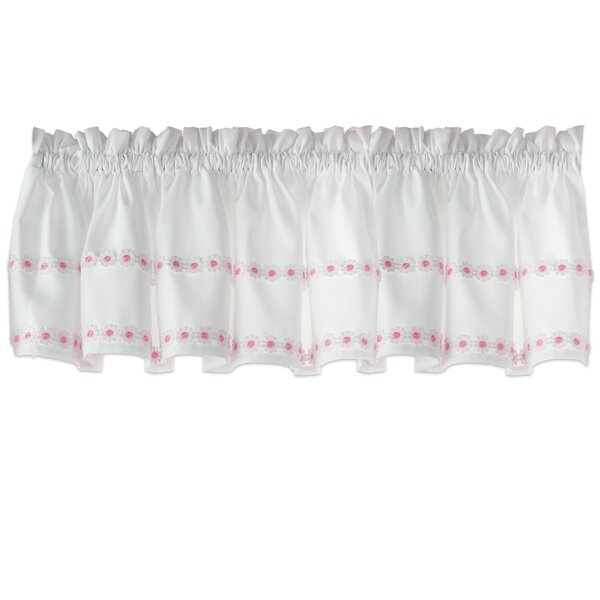 Small Kitchen Window Curtains | Wayfair With Floral Lace Rod Pocket Kitchen Curtain Valance And Tiers Sets (View 42 of 50)