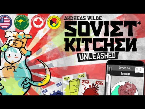Soviet Kitchen Unleashed* – Colorful Coop Cooking Cardgame Within Apple Orchard Printed Kitchen Tier Sets (View 43 of 50)